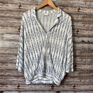 Postmark for Anthropologie batwing top